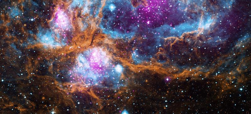 viewing sky through telescope