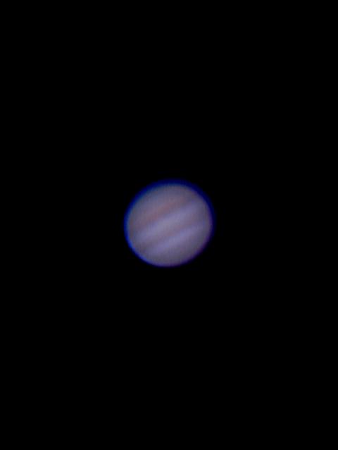 Jupiter photo using Celestron 4SE