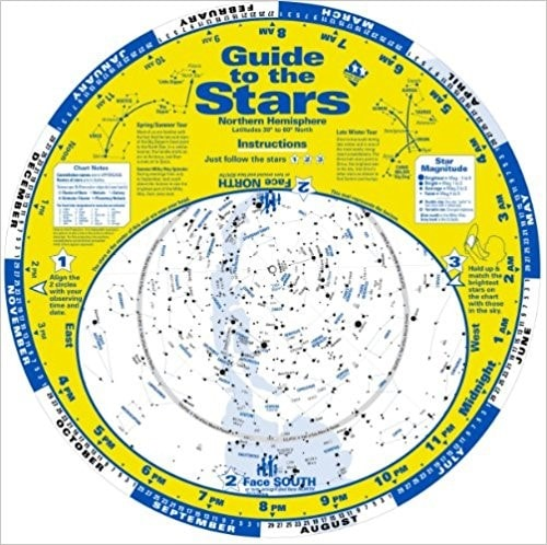 Planisphere - Guide to the Stars