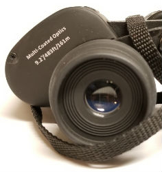 binocular with numbers