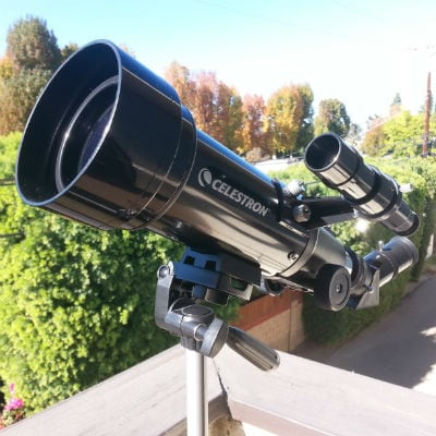 My Celestron Travel Scope Refractor