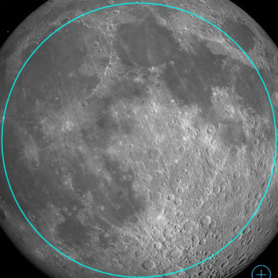 moon FOV 0.49 degree