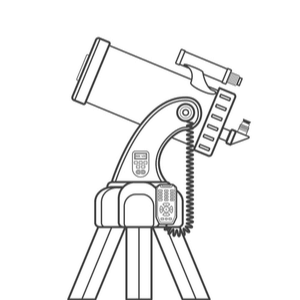 telescope on a dobsonian mount