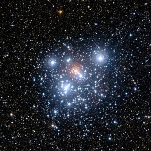 The Jewel Box star cluster, in the southern constellation of Crux