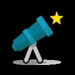 tiny portable telescope