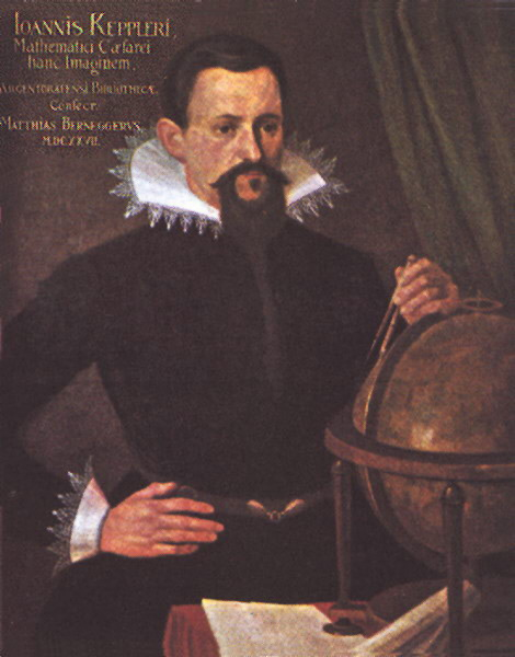 The astronomer Johannes Kepler.
