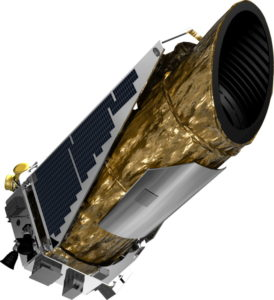 The Kepler Space Telescope. Image credit: NASA
