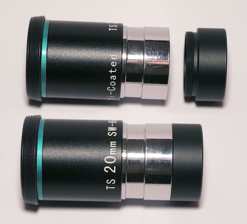 eyepiece and barlow element