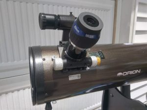 "2"" Meade UWA 20 mm in the focuser of my 8"" Dob"