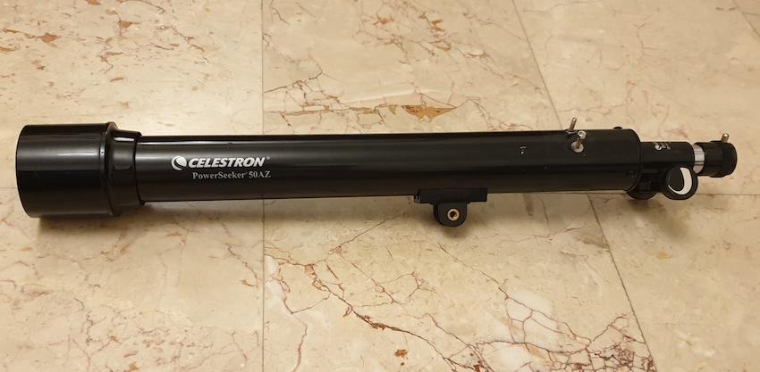 Optical tube of Celestron Powerseeker 50AZ