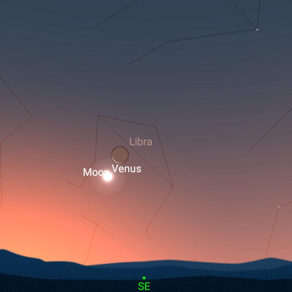 December 12th, morning sky.