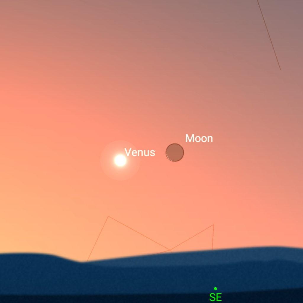 January 11th, morning sky.