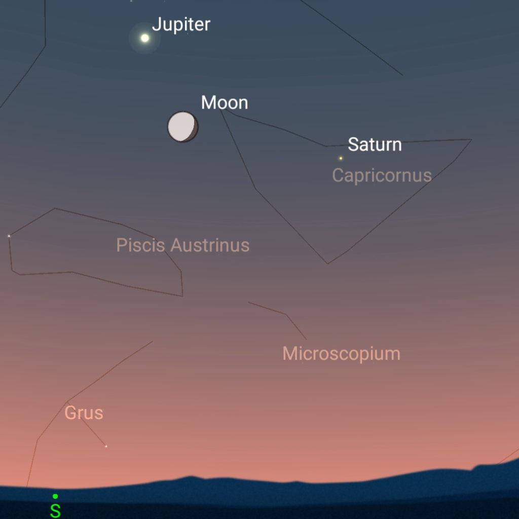 June 28th, evening sky.