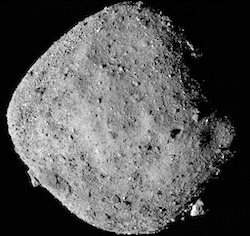 Asteroid 101955 Bennu is a C-type asteroid.