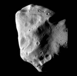Asteroid 21 Lutetia is an M-type asteroid about 100km in diameter.