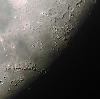 Seeing moon