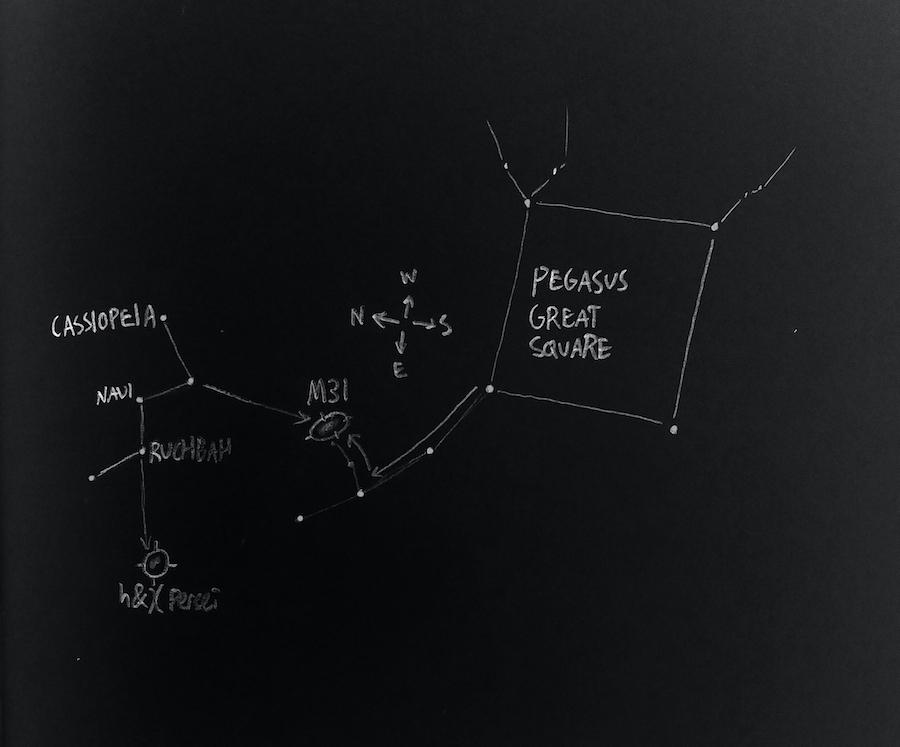 M31 map
