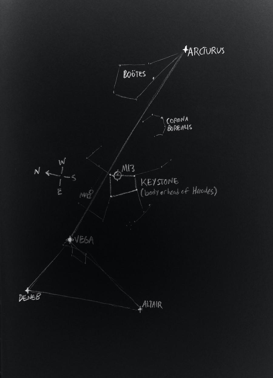 M13 map