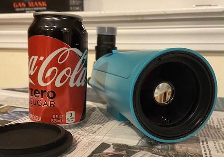 Sarblue reflector maksutov 60 telescope with cococola